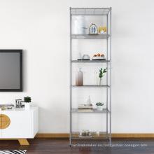Estantería metálica de estante de exhibición de metal para oficina en casa