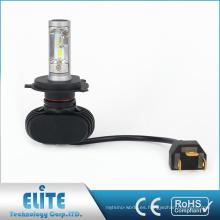 Super Clear S1 H4 4000lm 6500K Alta luz LED de la luz del coche de la viga baja con Seúl-csp