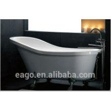 Bañera de clawfoot antigua de fibra de vidrio (GFK1700-1)
