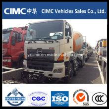 9-16m3 Hino 8X4 Mixer Truck em Nova Condição