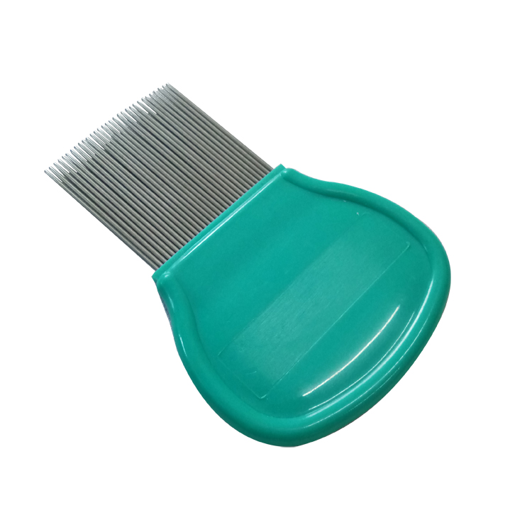 pet Metal tips comb