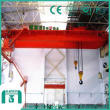 Capacité du pont roulant 150 tonnes à 160 tonnes
