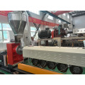 plastic recycling granule single screw extruder line