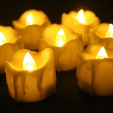 Berkedip-kedip Flameless Flameless Tea Light Lilin