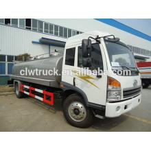 Camion de transport de lait, camion de transport de lait FAW, camion de transport de lait 4X2, camion de transport de lait 10000L