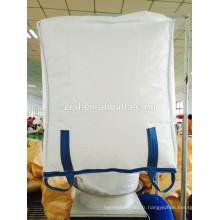 Grands sacs de doublure d'IInner, sac de doublure de récipient en vrac 1000kg, sac de récipient flexible ZR