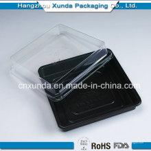 Recipiente para alimentos de microondas de plástico