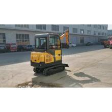 Precio hidráulico de la excavadora de orugas de la maquinaria de construcción de las mini excavadoras 1ton con el martillo