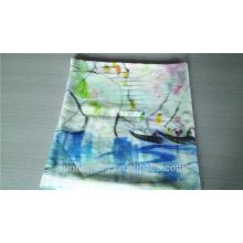 bufanda de cachemira de la pintura de la mano más nueva al por mayor