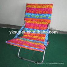Cadeira de praia dobrável barata, cadeira de sol dobrável usada