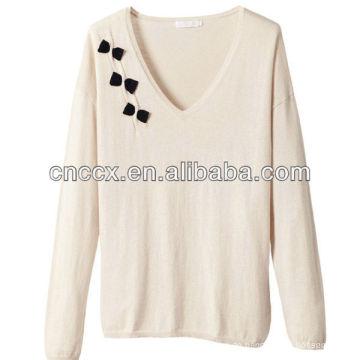 12STC0673 100% Baumwolle Damen Pyjama Pullover