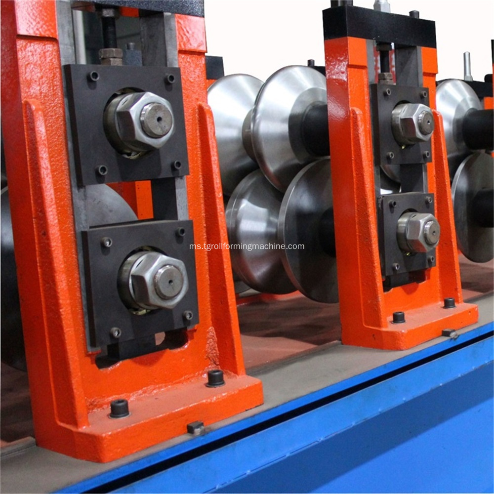 Galvanized Steel Highway Crash Barrier Roll Forming Machine