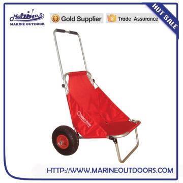 Aluminum trailer, Collapsible fishing chair, Outdoor beach trolley