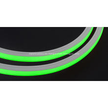 Evenstrip IP68 Dotless 1214 Verde Top Bend llevó la luz de la tira