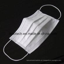 Máscara protectora não tecida descartável médica do laço 3ply do laço da orelha