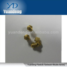 Bocais de bronze, bocal de buraco minúsculo, peças de latão, peças de latão cnc