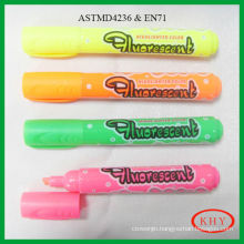Highlighter Marker Pen with chisel tip