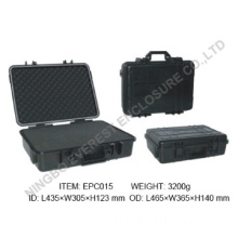 Hard protective equipment tool case