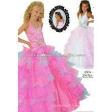 2013 perles à lèvres appliqué bleu rose à palettes robe de bal fait sur mesure longue tenue de célébrités CWFaf4711