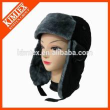 Nuevo sombrero personalizado del trampero de la nieve del earflap de la piel del faux del invierno