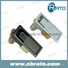 Latch with Lock for Side Panel of Cabinet