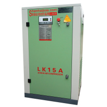 Bottom price for Best Lk Screw Compressors,13 Bar Screw Air Compressors,Vsd Screw Air Compressors,Screw Compressors Air End Kaishan Manufacturer in China LK15A-8 Belt Driven Screw Air Compressor KAISHAN supply to Netherlands Supplier