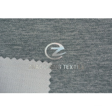 Two Tone Cloud Point Velvet Bonded with Knitted Fabric for Sofa and Home Use