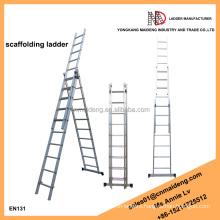 24 foot step ladder triple extension ladders aluminium