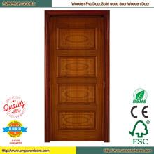 Puerta madera redonda de madera puerta de madera de sapeli