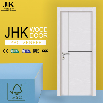 JHK-Sliding Glass Door PVC Plastic Interior Door Modern Gate Designs
