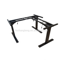 Bangladesh modern office electric height lifting mini laptop table frame with 3 legs