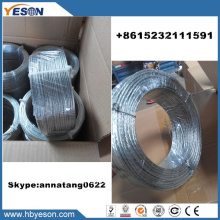 7 wires twisted galvanized multistrand tie wire