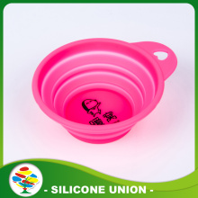 Factory Best Selling Foldable Silicone Dog Bowl