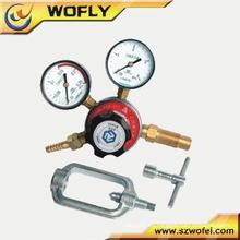 Regulador de presión de gas de argón diafragma de una sola etapa