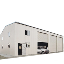 Ready Made Prefabricated Construction Large Span Warehouse Design Steel Structure Warehouse