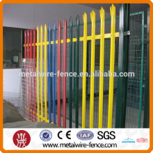 Забор из оцинкованной стали с ПВХ покрытием (профессиональный завод)