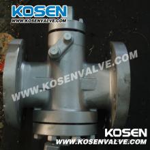 Inverted Pressure Balance Lubricated Plug Valves (X47H)