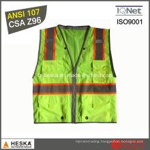 Mens Protective Wear Reflective Safety Vest
