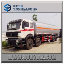 270HP 30 Cubic Beiben 8X4 Oil Tank Truck