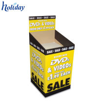 Custom Promotional Price Removable Header Cardboard Dump Bin For Sale,Attractive Retail Dump Bins Display