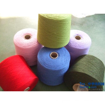 Recycled Cotton Yarn Open End Blended Polyester Yarn