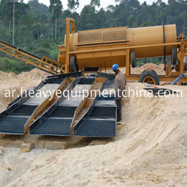 placer gold mining equipment
