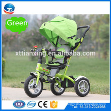 2016 New models cheap price Kids Pedal Trike tricycle, Children child Smart eec Trike 3 wheel Tricycle with AIR three wheels