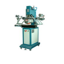 HH-350R Pneumatic flat/ cylindrical hot stamping machine for cups