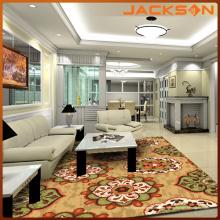 Kundenspezifischer Wohnzimmer-dekorativer Teppich