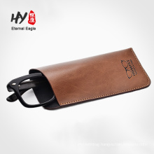 High grand leather sunglasses bag