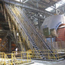 Small Capacity Sidewall Inclining Conveying System Price