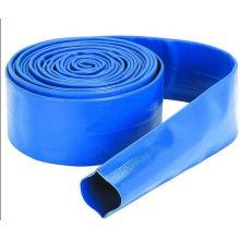 Manguera de agua Layflat PVC flexible de jardín de alta calidad