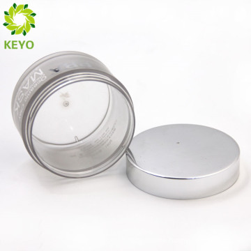 Printing hot stamping PP round big 200g round cosmetic plastic jar for packing