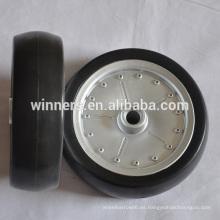 EVA rueda pequeñas ruedas de plástico de 7 pulgadas